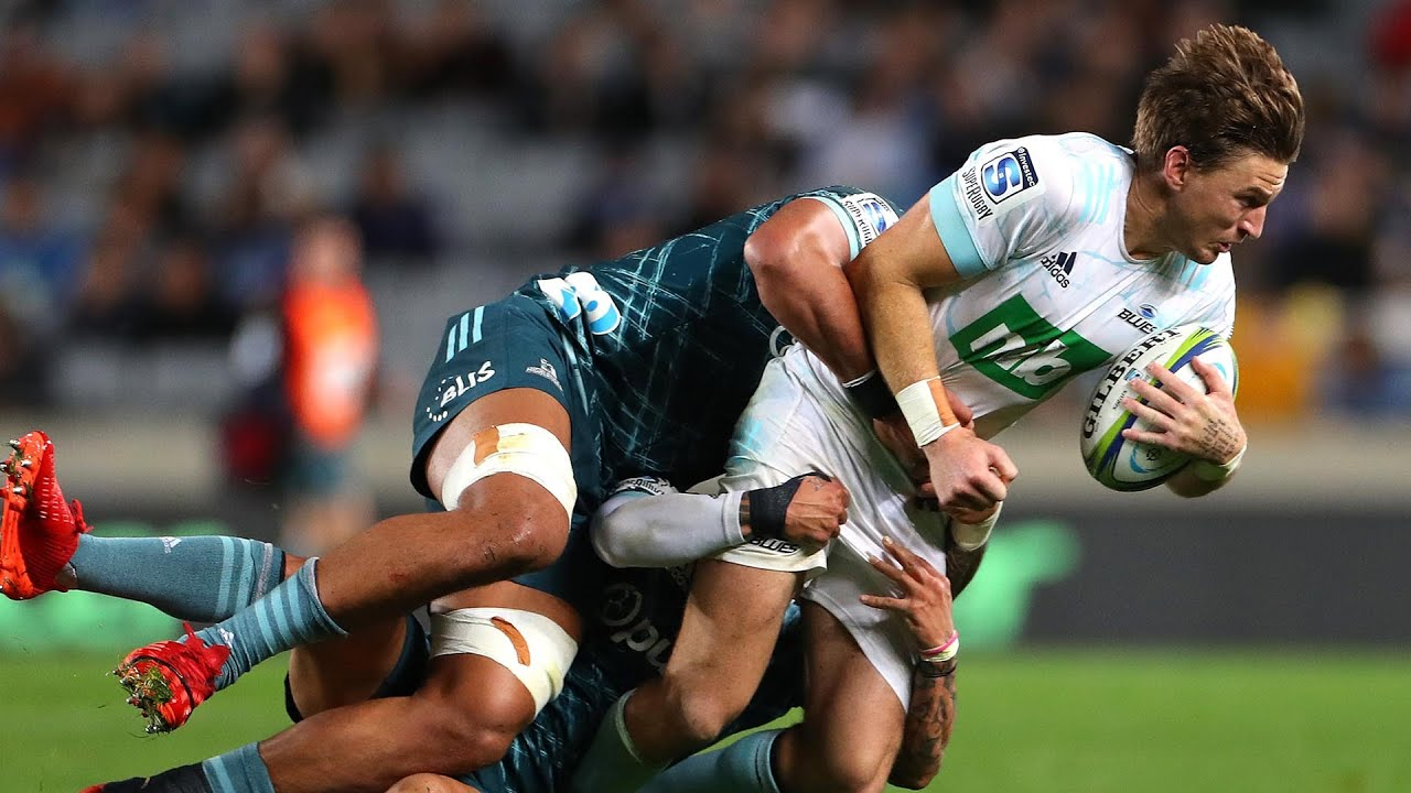 2020 Super Rugby Aotearoa Round Three: Blues vs Highlanders - YouTube