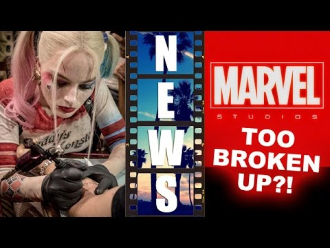 Harley Quinn's Tattoo Parlour, Marvel Cinematic Universe film rights problem - Beyond The Trailer