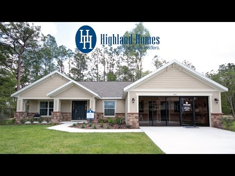 Ryleigh Home Plan By Highland Homes Florida New Homes