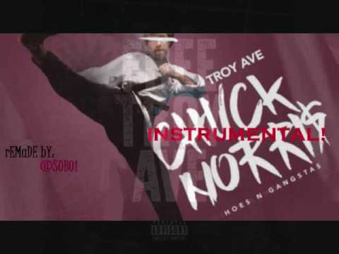 Troy Ave Chuck Norris Instrumental Hoes and Gangstas