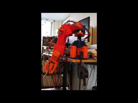 Robotic Arm Electronics and Firmware | Luke Metz