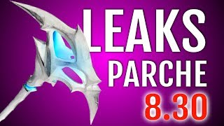 LEAKS PARCHE 8.3: SKINS AND NEW FORTNITE COSMETICS