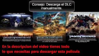 Descargar Transformers 1, 2 y 3 (SAGA Completa) DVDRip Latino [HF]