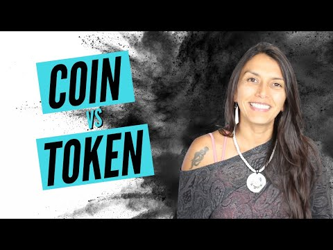 What's The Difference Between Coins And Tokens | Simply Explained