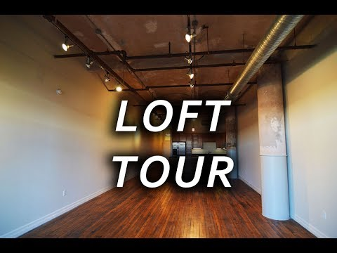 Fancy Houston Apartment Tours: Downtown Loft - S1 E1