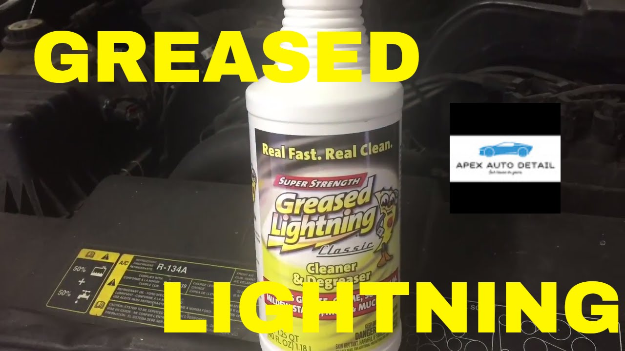 GREASED LIGHTNING!! Heavy Duty Cleaner and Degreaser