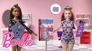 Best Friend Day with Barbie's BFF and a Color Surprise™ Makeover! | Barbie®