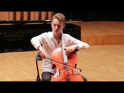 LALO Concerto pour violoncelle, Prélude - Eliott LERIDON - 1er Prix 14-16 ans - Concours FLAME