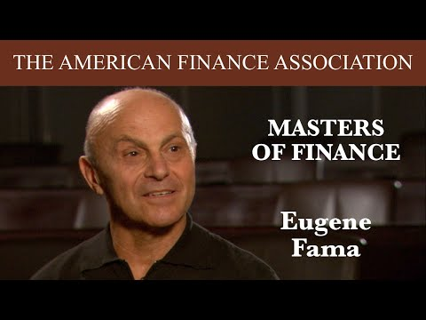 Masters of Finance: Eugene Fama