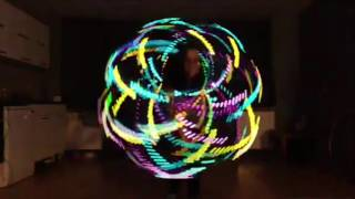 Psychedelic Hooping: Vini vici The tribe. sally hoop's