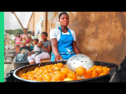 Africa's CHEAPEST Street Food!! Lagos, Nigeria Food Tour!!