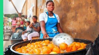 Africa's CHEAPEST Street Food!! Lagos, Nigeria Food Tour!!