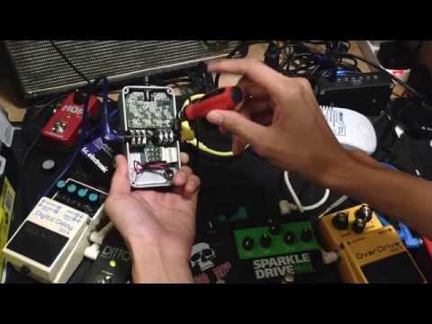 Electro Harmonix Memory Toy Feedback Trim