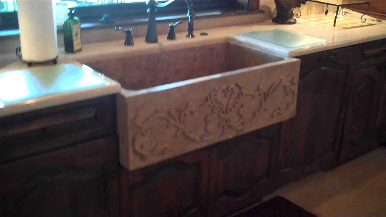 Masters Touch Custom Homes 305 Bissett Kitchen Sink and Cabinetry ...