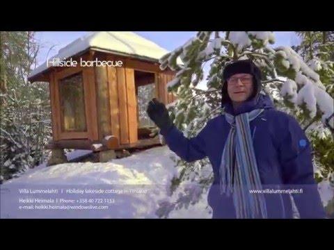 Holiday cottage in Finland: Villa Lummelahti.  Saima lakeside cottage rental