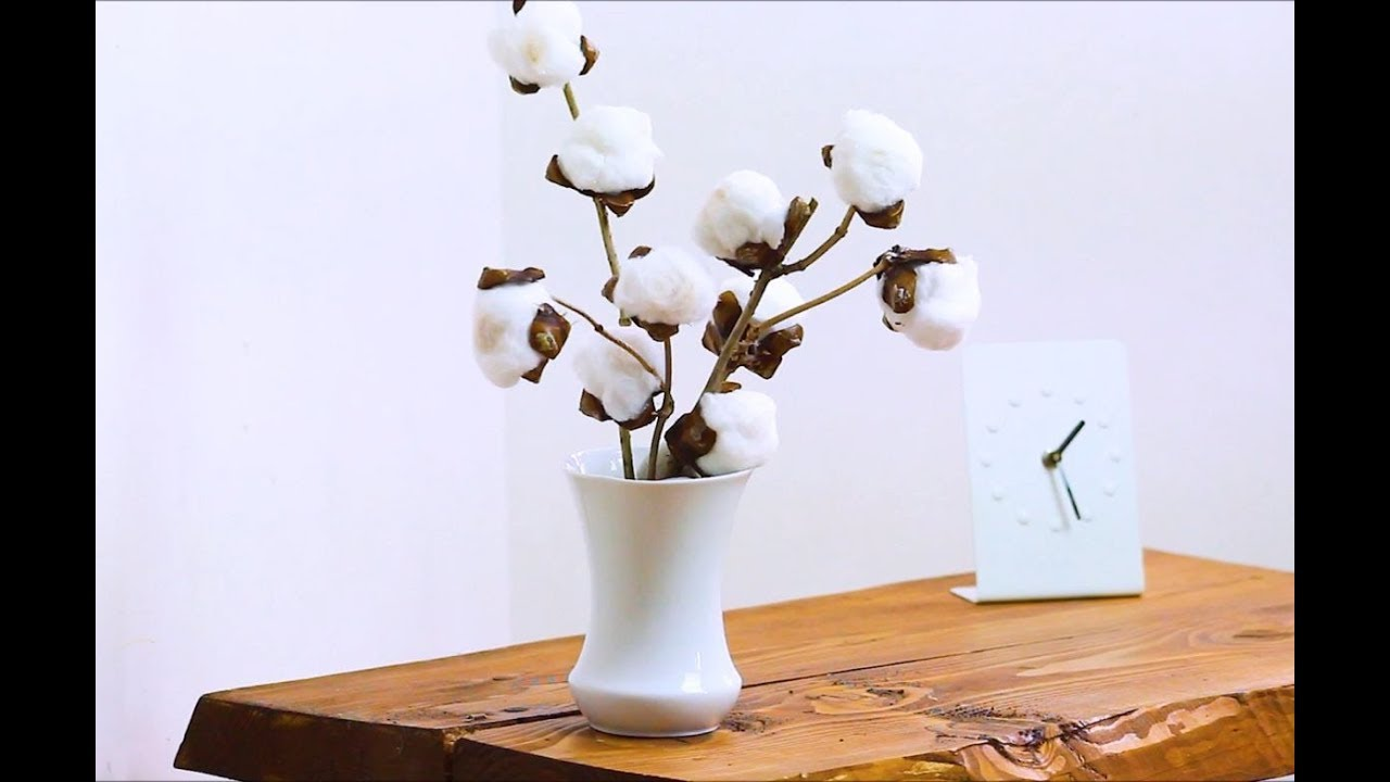 How To Make Cotton Stems Easy Youtube