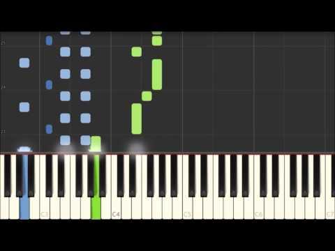 Katyusha - Russian Folk Song [Piano Tutorial] (Synthesia)