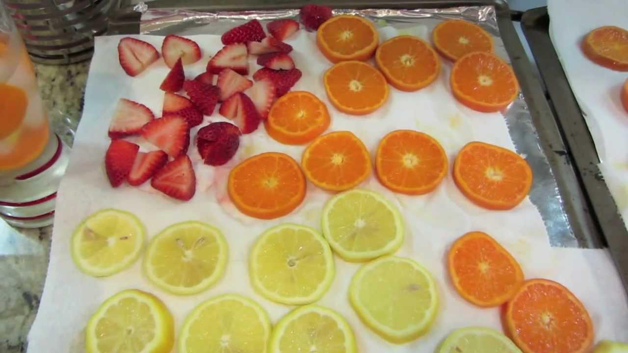 Freezing Your Fruits