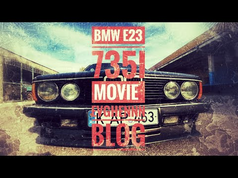 BMW E23 735i #low And #slow