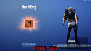 "UNLOCKING *NEW* SENTINEL ""HOT WING"" BACK BLING on Fortnite Battle Royale Season 9"