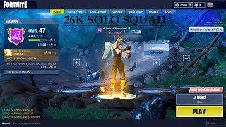 26 Kill solo squad *Read Description*