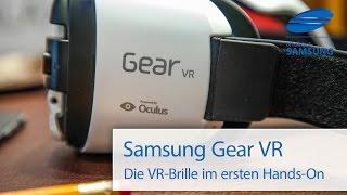 Samsung Gear VR Hands On Deutsch HD