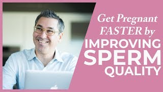 Get Pregnant Faster by Improving Sperm Quality