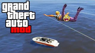 NEW GTA 5 PC Mod - FLYING STRIPPERS MOD GAMEPLAY! (GTA V PC Mods)