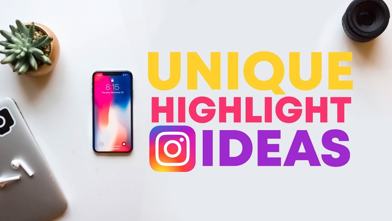 5 Cool Ways To Use Instagram Highlights Youtube