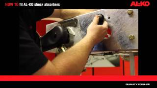 HOW TO fit AL-KO shock absorbers