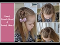 Heart French Braid and Accent