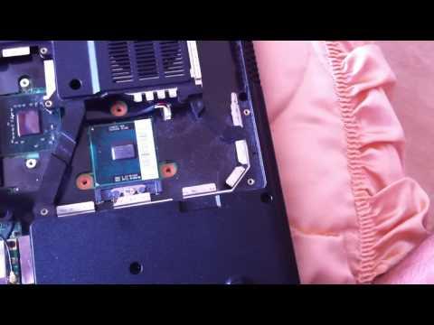 comment changer son processeur cpu pc portable doovi. Black Bedroom Furniture Sets. Home Design Ideas