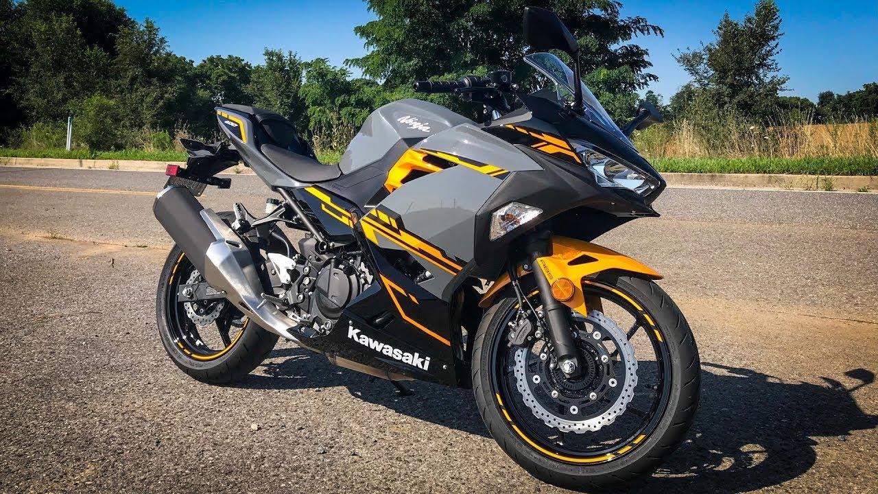 2018 Kawasaki Ninja 400 First Ride Review Youtube