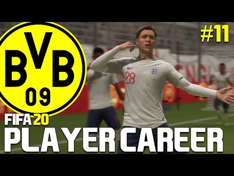 OUR FIRST GAME FOR ENGLAND!! | FIFA 20 My Player Career Mode #11
