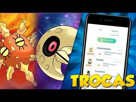 TESTEI O SISTEMA DE TROCA E AMIZADE + MIGRAÇÃO DE REGIONAIS  - Pokémon Go