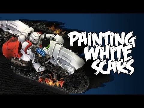 White Scars Painting Tutorial - Space Marines