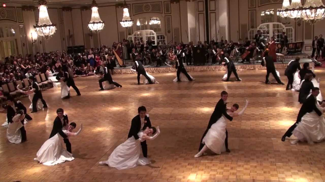Stanford Viennese Ball 2013 Opening Committee Waltz Youtube