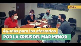 #SOSMarMenor Podemos y hosteleros exigen ayudas directas por la crisis del Mar Menor