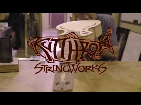 Kutthroat StringWorks - Making Sawdust... & Beautiful String Instruments