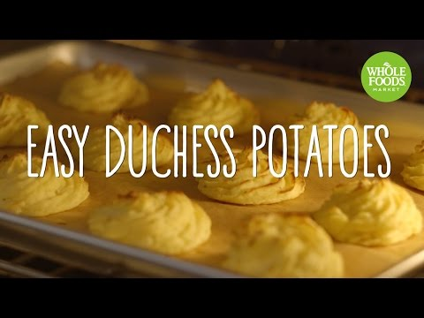 Easy Duchess Potatoes | Freshly Made | Whole Foods Market