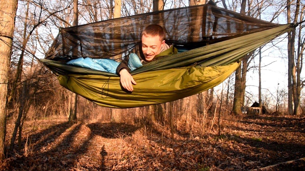 Hammock Camping - YouTube
