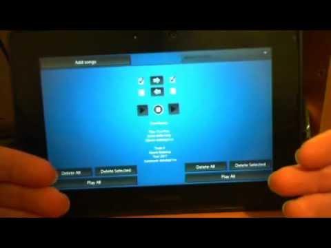 Q Music Playlist - BlackBerry Playbook App Review