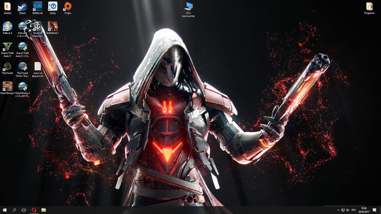 "Wallpaper Engine ""Reaper"""