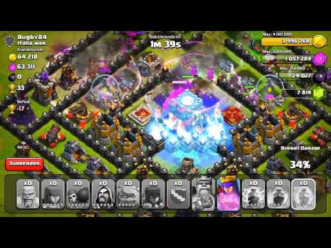 Clash of Clans - BEST RAID EVER.