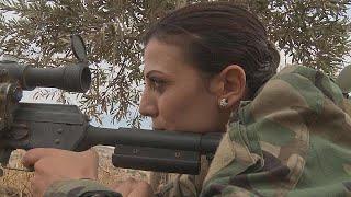 Suriye'nin kadın savaşçıları