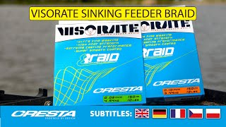 20.CRESTA VISORATE Sinking Feeder Braid.