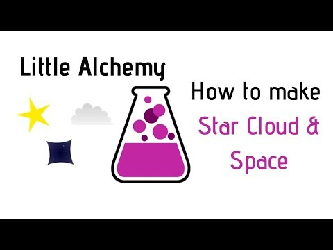 Little Alchemy-How To Make Star, Cloud & Space Cheats & Hints