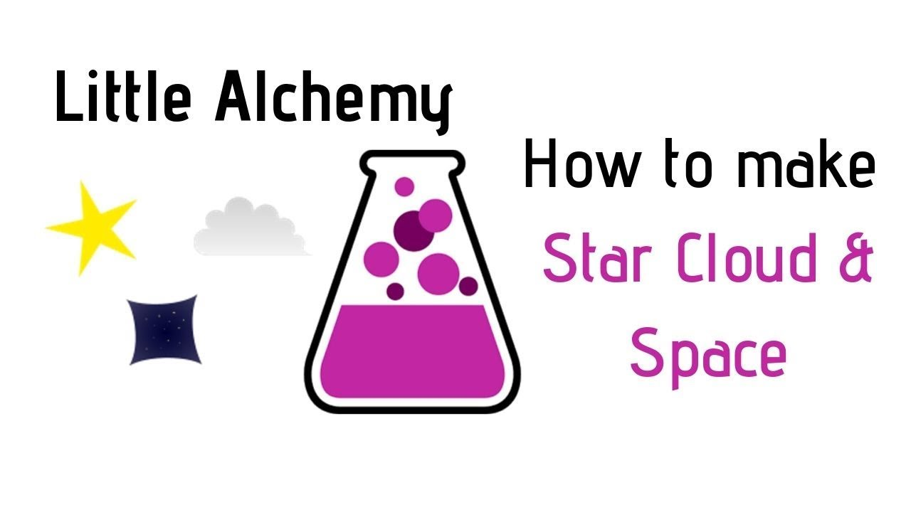 Little Alchemy How To Make Star Cloud Space Cheats Hints Youtube