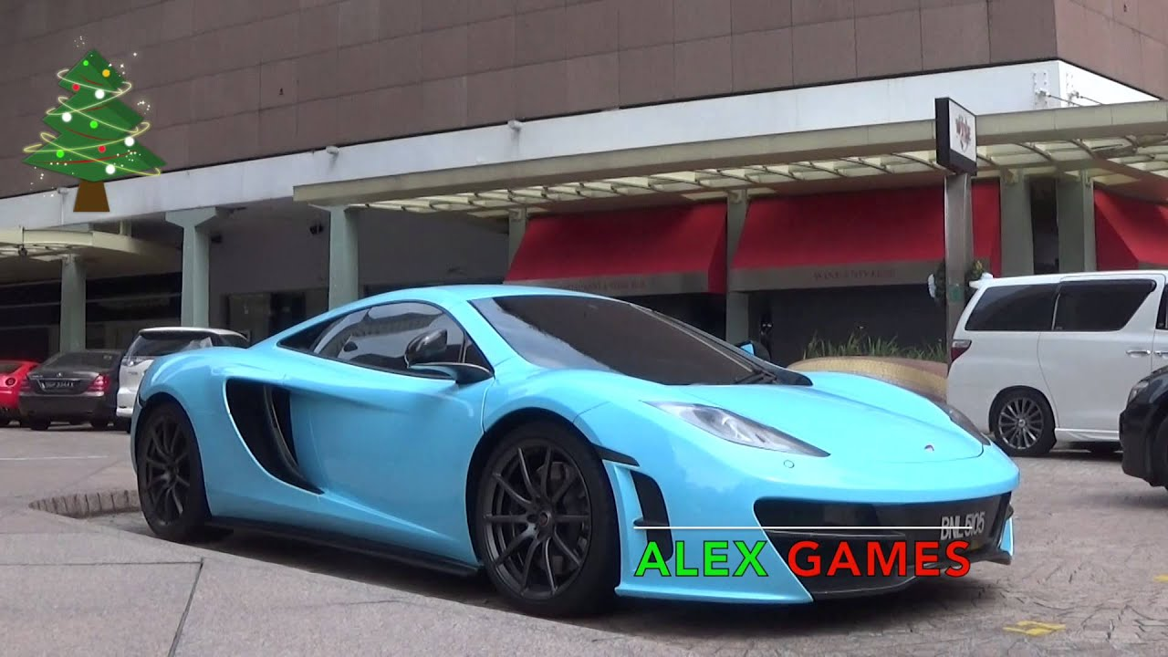 merry christmas! rare baby blue revozport kitted mclaren mp4-12c
