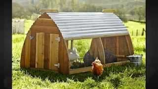 Chicken Coops And Hen Houses - Build A Chicken Coop Or Hen House That's Right For Your Flock